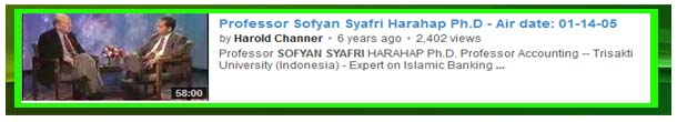 video ief trisakti interview harold channer